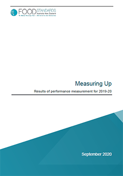 Measuring Up: Results of performance measurement 2019-20